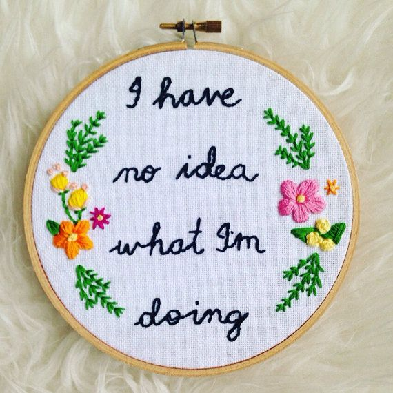 Stitch & Bitch - Embroidery Circle